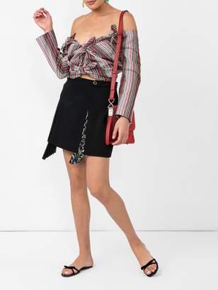Givenchy Pleat insert kilt