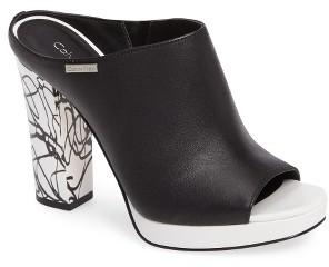 Women's Calvin Klein Beitris Mule $138.95 thestylecure.com