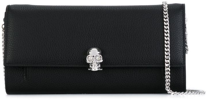 Alexander McQueen Alexander McQueen clutch bag with chain