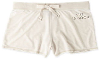 Life Is Good Burnout French Terry Shorts $38 thestylecure.com