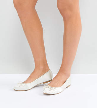 Asos DESIGN LIBRA Bridal Ballet Flats