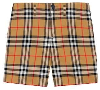 8dca2100cb268 Burberry Vintage Check cotton shorts