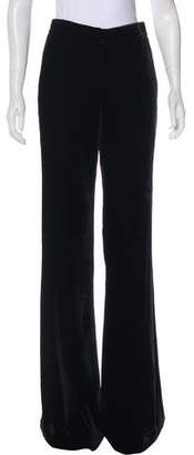 Veronica Beard Velvet Wide-Leg Pants w/ Tags