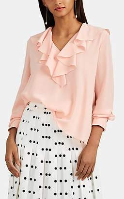 Fendi Women's Silk Crêpe De Chine Blouse - Pink