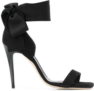 Lanvin Tie ankle open toe heels