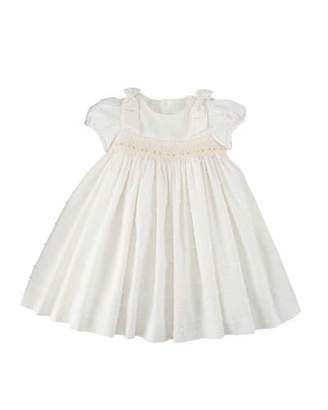Luli & Me Swiss Dot Smocked Dress, Size 3-24 Months