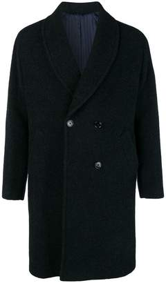 Piombo Mp Massimo shawl collar coat
