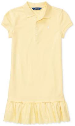 Polo Ralph Lauren Stretch Polo Dress, Big Girls