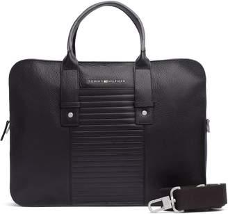 Tommy Hilfiger Leather Laptop Bag