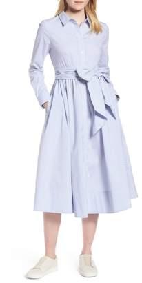 1901 Stripe Midi Shirtdress (Regular & Petite)