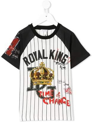 Dolce & Gabbana Royal King print T-shirt