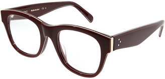 Celine Unisex Square 50Mm Optical Frames
