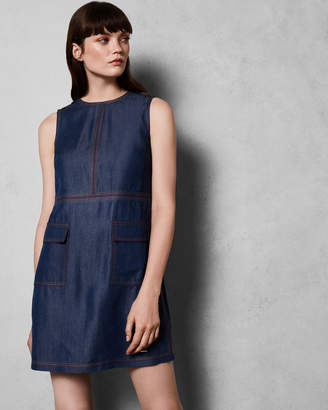 Ted Baker ODIE Pocket patch dress