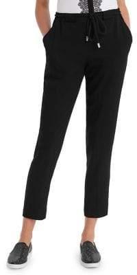 Karl Lagerfeld Paris Drawstring Cropped Pants