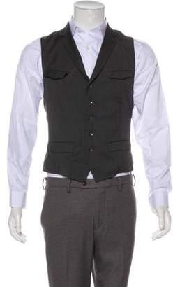 Rag & Bone Pinstriped Wool Vest