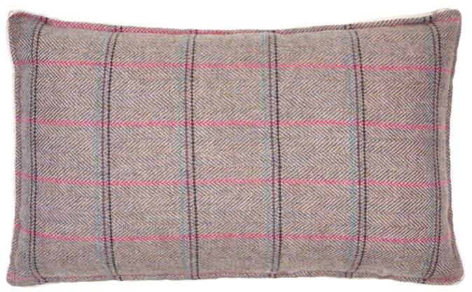 Josephine Home Tweed Bolster Cushion (30cm x 50cm)