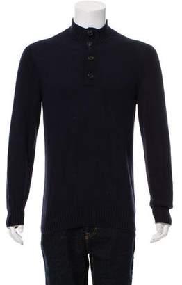 Brunello Cucinelli Mock Neck Sweater