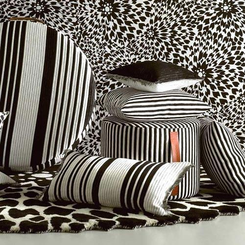 Missoni Home - black & white 4 living collection by missoni home