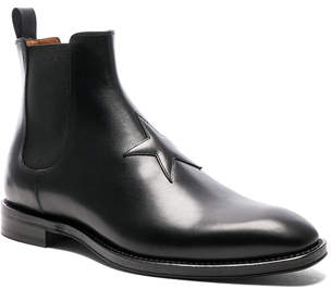 Givenchy Leather Rider Boots