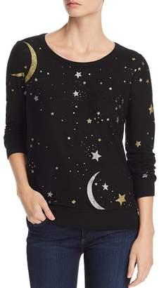 Chaser Foil Star Print Sweatshirt