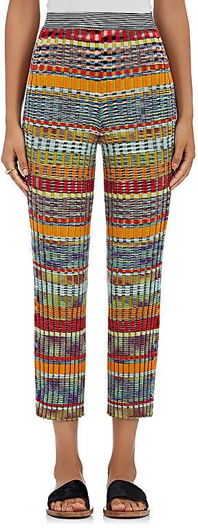 Missoni Women's Striped Wool-Blend Crop Pants