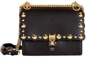 Fendi Small Embellished LeatherKan I Bag