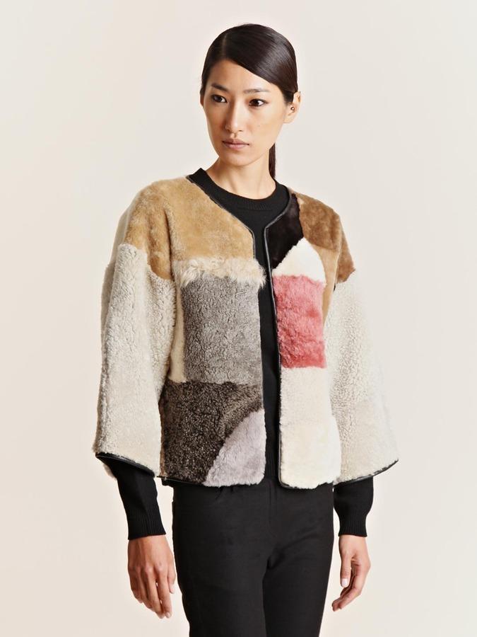 Women's Hand Sewn Patchwork Jacket