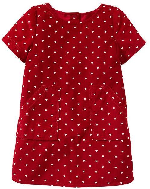 Gap Heart patch-pocket dress
