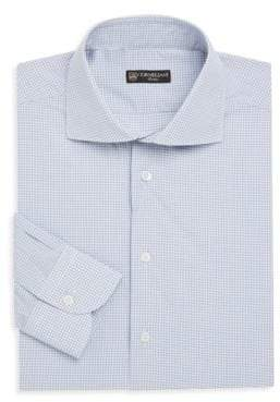 Corneliani Regular-Fit Window Plaid Woven Shirt
