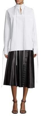 Derek Lam Mandarin-Collar Shirt