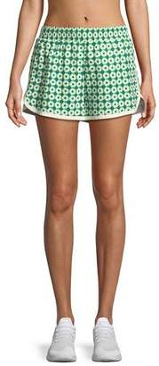Tory Sport Printed Pull-On Running Shorts
