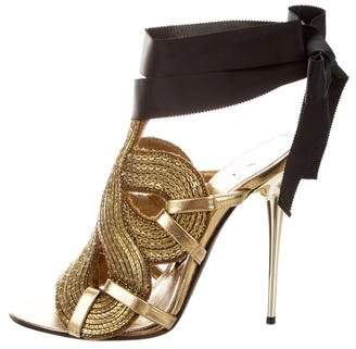 66aacda3098 Tom Ford Embellished Women s Sandals - ShopStyle