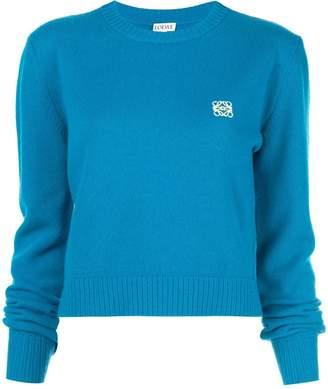 Loewe embroidered logo sweater