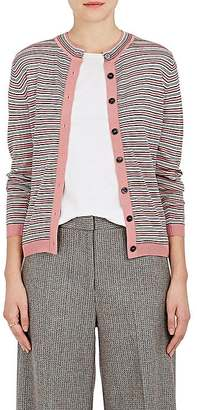 Marni Women's Striped Wool-Silk Cardigan