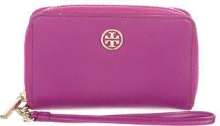 Tory Burch Tory Burch Leather Wristlet Wallet