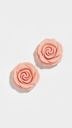 Kate Spade Artisanal Rose Studs