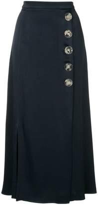 CHRISTOPHER ESBER side buttons a-line skirt