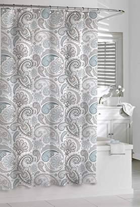 Kassatex SPS-115-BGR Paisley Shower Curtain