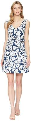 Adrianna Papell Daisy Field Fit and Flare Dress Women's Dress