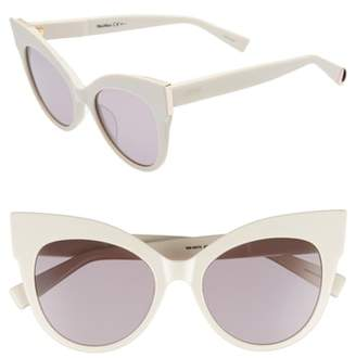 Max Mara Anita 52mm Cat Eye Sunglasses