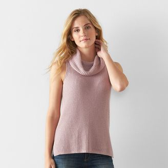 Women's SONOMA Goods for LifeTM Sleeveless Cowlneck Tunic $40 thestylecure.com