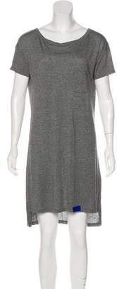 Alexander Wang Short Sleeve Mini Dress