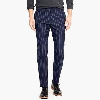 J.Crew Ludlow slim-fit pant with bouclé pinstripes