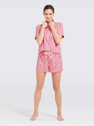 fdea507fbb3b Short Sleeve Pajama Set Women - ShopStyle