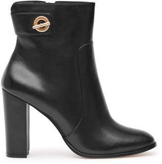 Reiss Hepworth Block-Heel Ankle Boots
