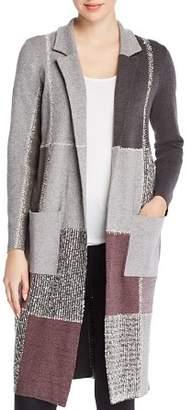Nic+Zoe Patchwork Knit Jacket