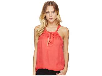 BB Dakota Alonza Tie Front Tank Top Women's Sleeveless