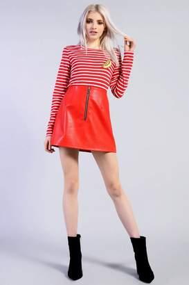 Glamorous **PU Skirt