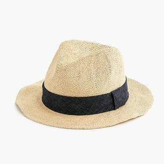 J.Crew Packable panama hat
