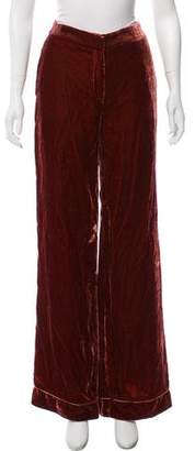 Barneys New York Barney's New York Mid-Rise Wide-Leg Pants w/ Tags